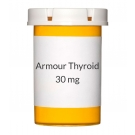 Armour Thyroid 30mg (0.5gr) Tablets