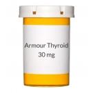 Armour Thyroid 30mg (0.5gr) Tablets