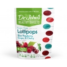Dr. John's® Healthy Sweets™ Diabetic Candy Assorted Fruit Lollipops 12 pack