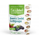 Dr. John's® Healthy Sweets™ Diabetic Candy Berryswirl Lollipops 10 pack