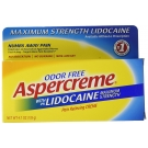 Aspercreme Maximum Strength Lidocaine Pain Relieving Creme- 4.7oz