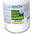 Aspirin (81 mg) - 1000 Enteric Coated Tablets