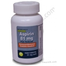 Aspirin (81mg) EC Tablets - 1000 CT
