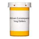 Ativan (Lorazepam) 1mg Tablets