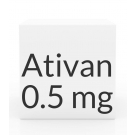 Ativan 0.5mg Tablets