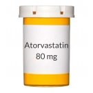 Atorvastatin 80 mg Tablets