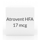 Atrovent HFA 17mcg (12.9gm) Inhaler