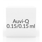 Auvi-Q 0.15/0.15ml Syringe Auto-Injector- 2 Pack