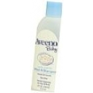 Aveeno Baby Wash & Shampoo Lightly Scented Natural Oat Formula 12 oz