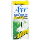 Ayr Saline Nasal Gel No-Drip Sinus Spray - .75 oz