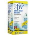 Ayr Saline Nasal Rinse Kit - 50ct