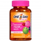 One A Day for Her Vitacraves Teen Gummies 60 Ct