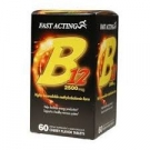Fast Acting Vitamin B12 2500 mcg Quick Dissolve Cherry Flavor Tablets - 60ct