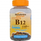 Sundown Vit B-12 1500mcg Chocolate and Coffee Flavored Gummies - 90ct