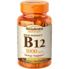 Sundown Naturals B12 1000 mcg Vitamin Supplement Tablets - 60ct