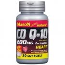 Mason Natural Co Q-10 200 Mg Softgels - 30ct