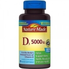 Nature Made Vitamin D 5000 IU Liquid Softgels 90ct