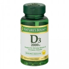 Nature's Bounty Super Strength D-2000 IU Softgels 150ct