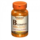 Sundown Naturals B-Complex Tablets- 100ct