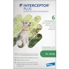 Interceptor Plus For Dogs 8.1-25.5lbs- 6 tablet pack (Green)