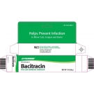 Bacitracin 500 UN/GM Ointment - 144x0.9gm Packets