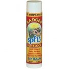 Badger Sunscreen Lip Balm, SPF 15 - .15oz Stick ** Extended Lead Time**
