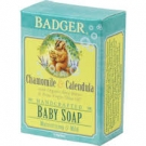 Badger Baby Soap, Chamomile & Calendula - 4oz
