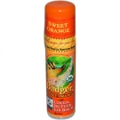 Badger Cocoa Butter Lip Balm, Orange - .25oz Stick, 18 ct