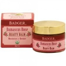 Badger Damascus Rose Beauty Balm -  1oz Glass Jar