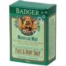 Badger Face & Body Soap, Moroccan Mint - 4oz Bar
