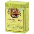 Badger Lemongrass & Ginger Botanical Body Soap - 4oz