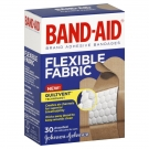 Band-Aid Flexible Fabric Adhesive Bandages Assorted - 30ct
