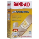 Band-Aid Plus Antibiotic Adhesive Bandages Assorted Sizes - 20ct