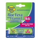 Banana Boat Aloe Vera with Vitamin E Sunscreen Lip Balm, SPF 45- 0.15oz