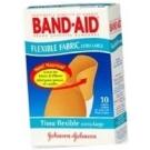 Band-Aid Bandage Flexible Fabric Extra Large 10 ct