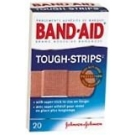 Band-Aid Bandages Tough-Strips One Size  20ct