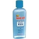 Band Aid Hurt-Free Antiseptic Wash 6oz
