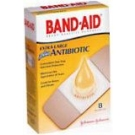 Band-Aid Plus Antibiotic Bandages Extra Large All One Size  8ct