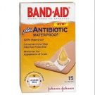 Band-Aid Plus Antibiotic, Waterproof- 15ct