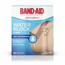 Band-Aid Bandage Water Block Plus Large 10/Box