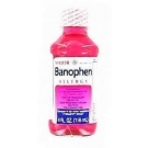 Banophen Allergy Relief Elixir- 4oz (Major)