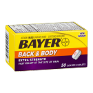 Bayer Back & Body Pain Extra Strength Caplet - 50