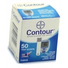 Bayer Contour Diabetic Test Strips - 50 Strips