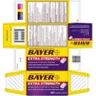 Bayer Extra Strength Asprin Caplets- 4ct