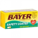 Bayer Aspirin Regimen Low Dose, Safety Coated Enteric Tablets- 100ct