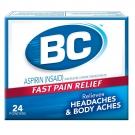 BC Aspirin Fast Pain Relief Headaches & Body Aches Powders - 24 CT