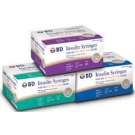 BD Safety-Lok Insulin Syringe 29 Gauge, 1cc, 1/2