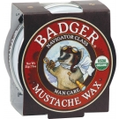 Badger Man Care Mustache Wax - .75oz Tin ** Extended Lead Time **