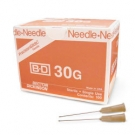 BD Precision Glide Needle Only 30 Gauge 1/2
