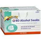 BD 326895, Alcohol Prep Swabs - 100 Swabs
